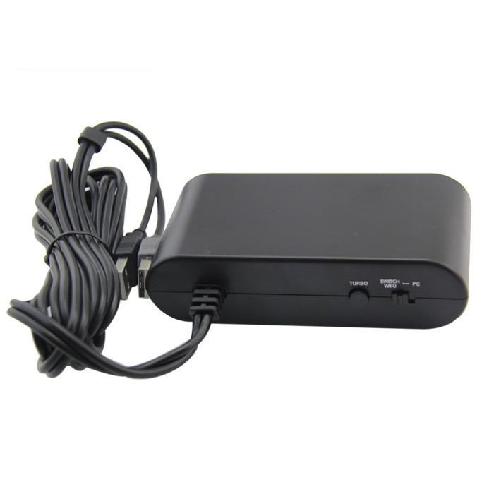 SWITCH ゲームキューブコントローラー接続タップ 連射 WiiU/PC用使用可 1-8人同時プレイ albert0051 07