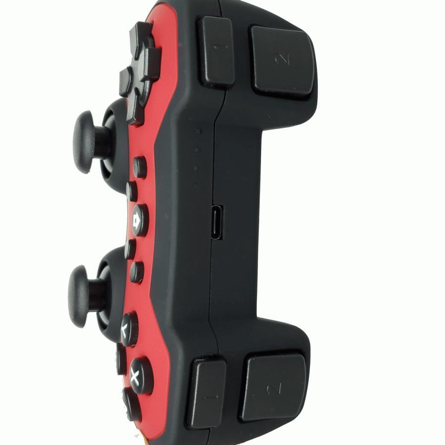 SWITCH プロコン ワイヤレスコントローラー Lite対応 ジャイロ搭載 振動機能 連射機能 無線|albert0051|12