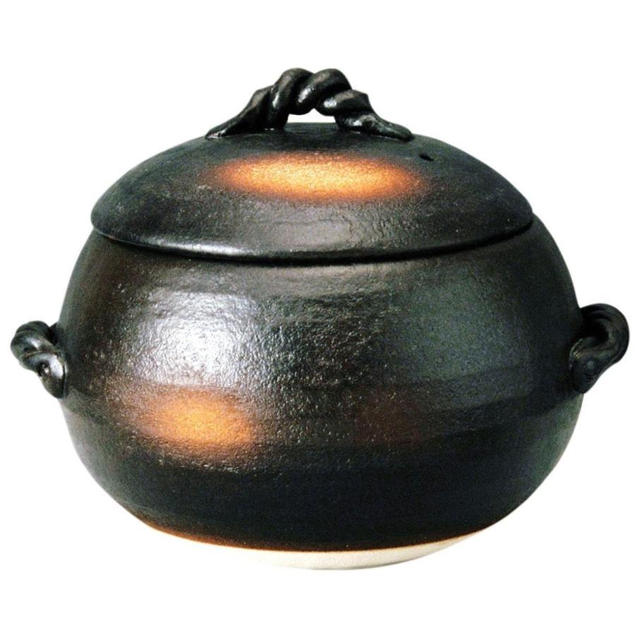土鍋 炊飯 ごはん 5合炊き 萬古焼 三鈴陶器 陶器 炊飯鍋 直火 日本製 ale-y