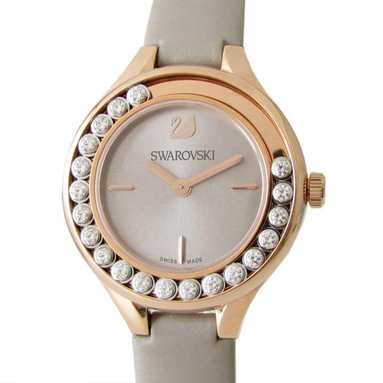 本物品質の スワロフスキー SWAROVSKI 腕時計 レディース Lovely Crystals Mini ライトグレー 5261481, 3Dくつした専門店mintbaby 63ecc4c1