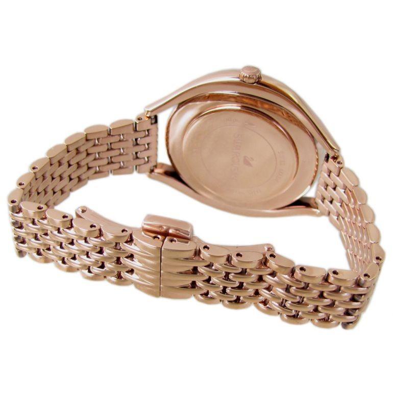 スワロフスキー SWAROVSKI 腕時計 レディース ローズゴールド ブレスレットウォッチ CRYSTALLINE AURA 5519459|alevelshop|04