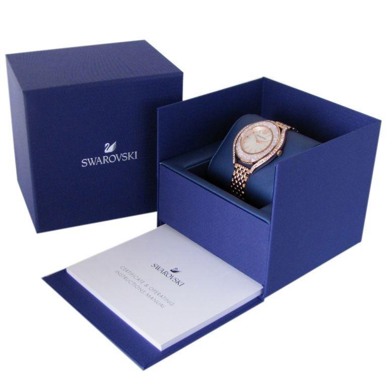 スワロフスキー SWAROVSKI 腕時計 レディース ローズゴールド ブレスレットウォッチ CRYSTALLINE AURA 5519459|alevelshop|06