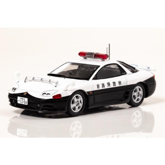 ☆コロナに負けるな応援特価☆【RAI'S】1/43 三菱 GTO Twin Turbo (Z16A) 1994 新潟県警察高速道路交通警察隊車両(502)|alex-kyowa