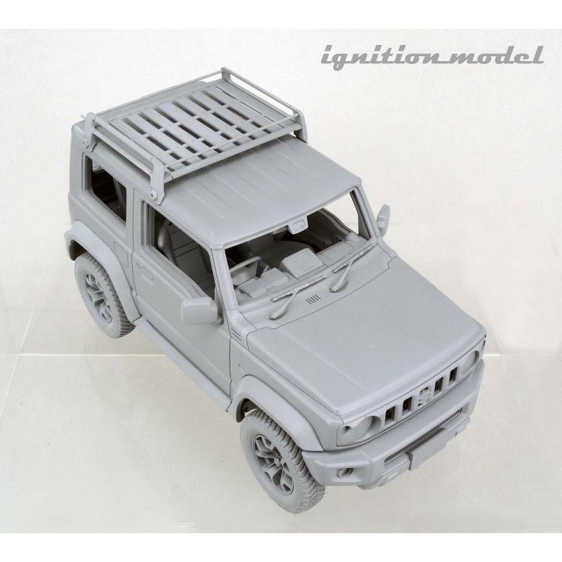 ☆12月新製品☆【ignition model】1/18 SUZUKI Jimny SIERRA JC (JB74W) Lift Up Kinetic Yellow/Black|alex-kyowa|04