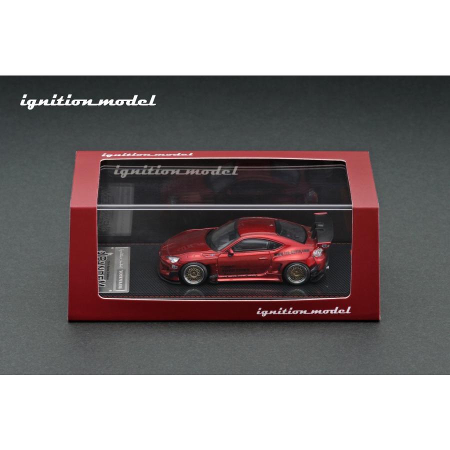 ☆コロナに負けるな応援特価!☆【ignition model】1/64 PANDEM TOYOTA 86 V3 Red Metallic alex-kyowa 03