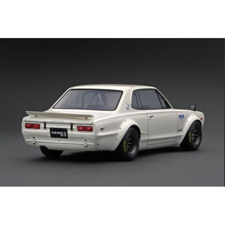 ☆11月新製品☆【ignition model】1/18 Nissan Skyline 2000 GT-R (KPGC10) White|alex-kyowa|03