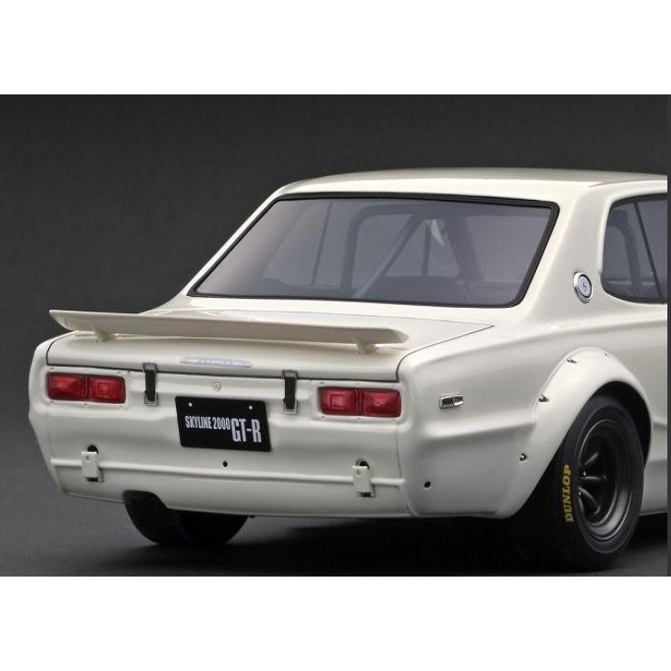 ☆11月新製品☆【ignition model】1/18 Nissan Skyline 2000 GT-R (KPGC10) White|alex-kyowa|05