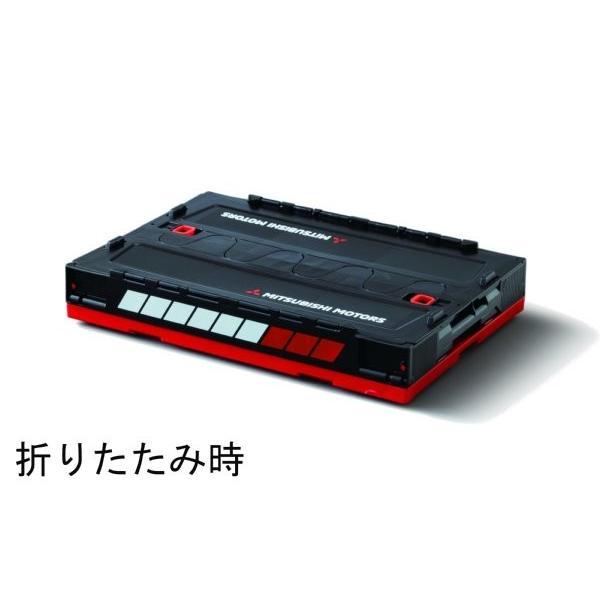 【MITSUBISHI MOTORS COLLECTION】折りたたみコンテナボックス 20L|alex-kyowa|03