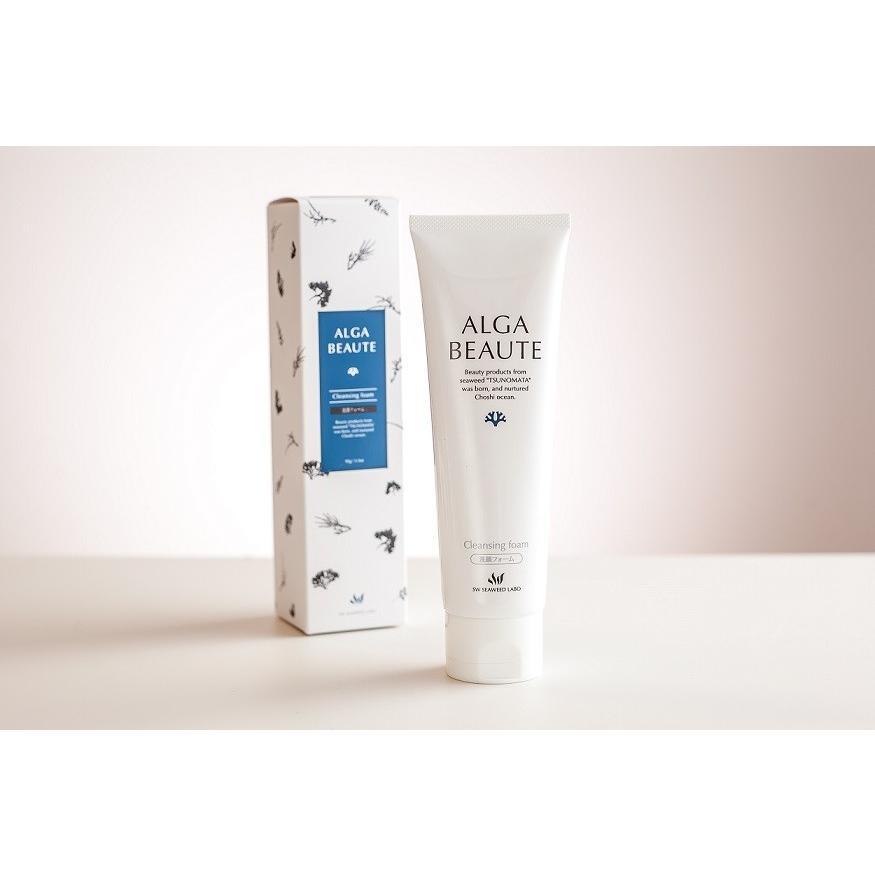 アルジェボーテ クレンジングフォーム 洗顔|alga-beaute|02