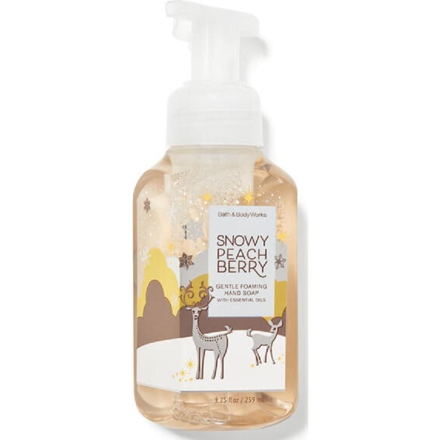 Bath amp; Body Works バスアンドボディワークス 泡ハンドソープ Snow 送料無料 7営業日発送 選べる配送 peach berry 条件付き セール 超歓迎された 2020新作