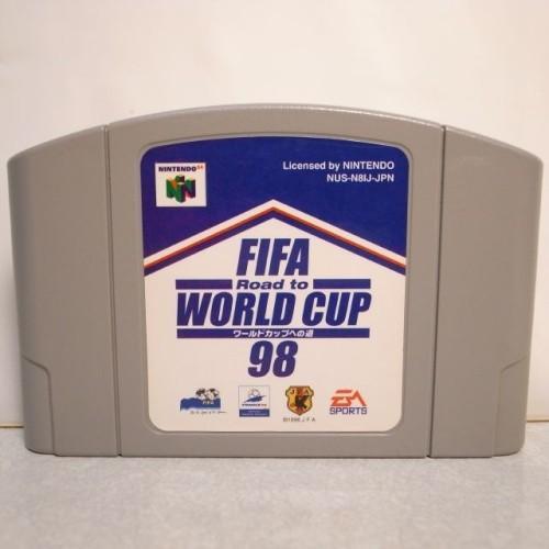 【N64】FIFA Road to WORLD CUP98 ワールドカップへの道98 ソフトのみ サッカー JFA xbdf27【中古】 alice-sbs-y