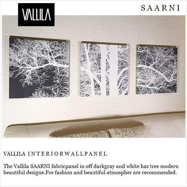 ファブリックパネル アリス VALLILA SAARNI 木40×40cm 3枚組 木40×40cm 3枚組 サールニ ヴァリラファブリック ボード デザイナーズ
