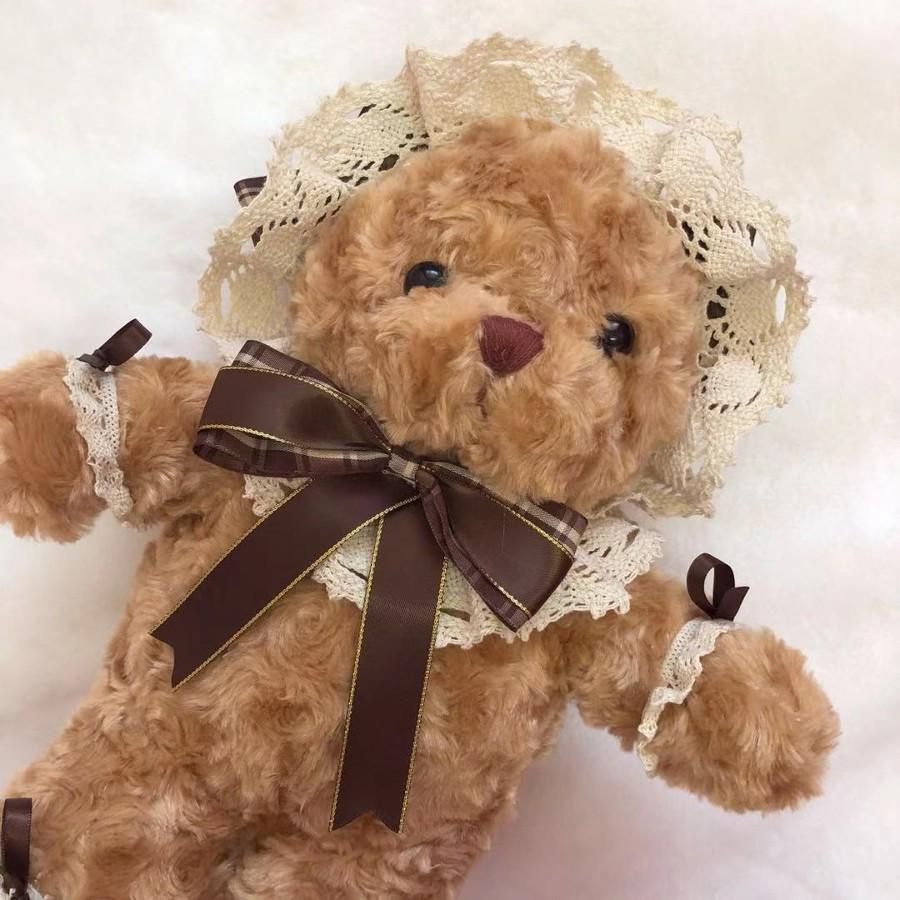 テディベアバッグ ショルダーバッグ ぬいぐるみ ファンシー クマ かわいい 可愛い ロリータ ロリィタ   alicedoll 03