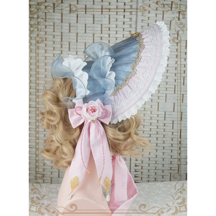 ロリータ レディース 帽子ハットボンネットカチューシャ ヘアドレスゴシック  花柄 Lolita alicedoll 03