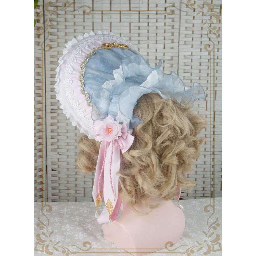 ロリータ レディース 帽子ハットボンネットカチューシャ ヘアドレスゴシック  花柄 Lolita alicedoll 04