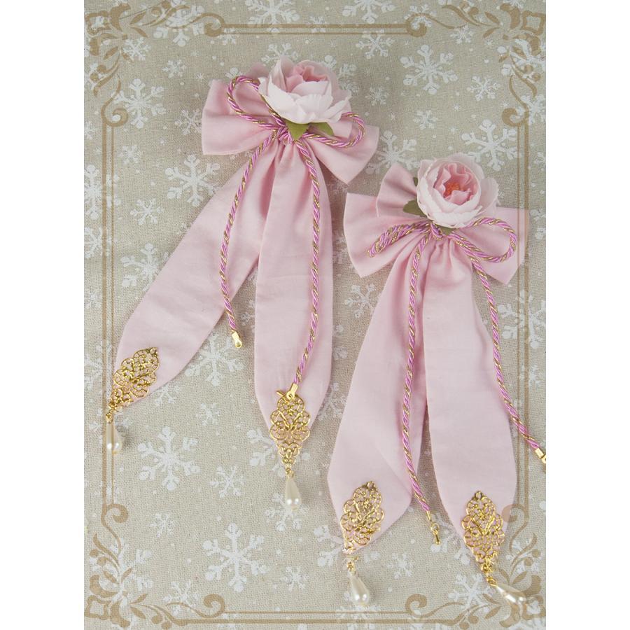ロリータ レディース 帽子ハットボンネットカチューシャ ヘアドレスゴシック  花柄 Lolita alicedoll 05
