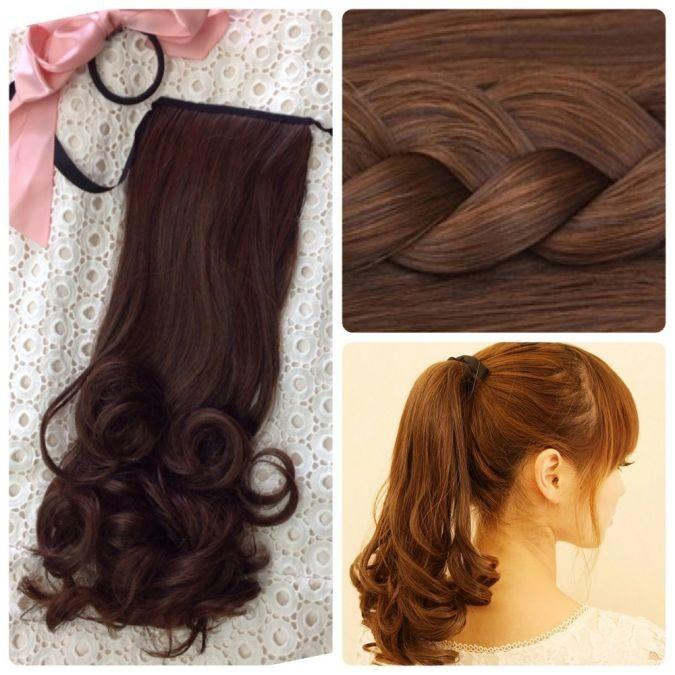 ウィッグ 安い エクステンション ポニーテールウィッグ 上品 つけ毛 エクステ ポイントウィッグ ロング ウイッグ かつら 送料無料 部分 イメチェン 自然