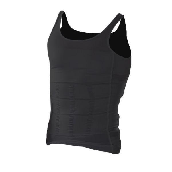 加圧シャツ タンクトップ 補正 下着 姿勢 猫背 補正 トレーニング スーツ 加圧下着 筋トレ お腹引き締め メンズ 送料無料|alife|09