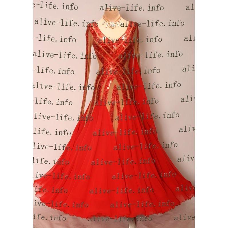 社交ダンス衣装 社交ダンスドレス モダンドレス デモ用ドレス セミオーダードレス ラテンドレス ワンピース WB3216