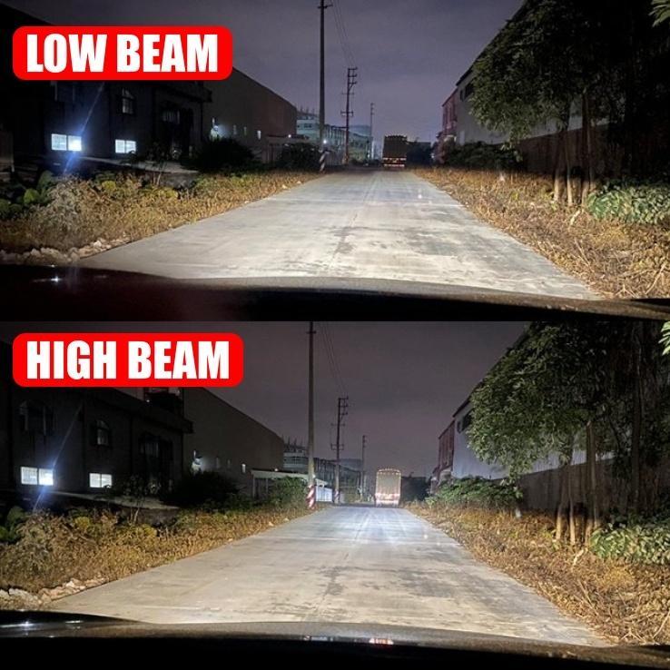 高輝度 LEDヘッドライト フォグランプ H4/H8/H9/H11/H16 COBチップ 12V 24000Lm 6000K 2本 車検対応 ポン付け Hi/Lo 切替式 all-select 08