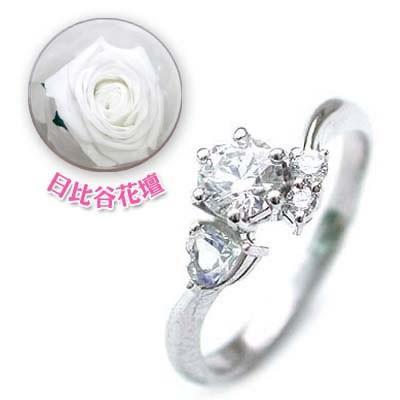 CanCam掲載婚約指輪ダイヤモンド プラチナエンゲージリング6月誕生石ムーンストーン【今だけ代引手数料無料】