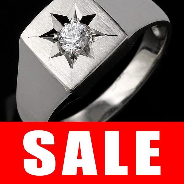 【セール 登場から人気沸騰】 メンズ 印台リング 指輪 ダイヤモンド 0.10ct 一粒 セール, LIBERTE ac658f78