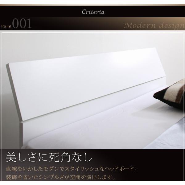 ベッドフレームのみ ベッド ガス圧跳ね上げ セミシングル 縦開き 深さグランド お客様組立|alla-moda|04