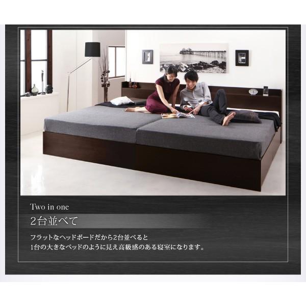 ベッドフレームのみ ベッド セミダブル 床板仕様 組立設置付 国産 収納 alla-moda 09