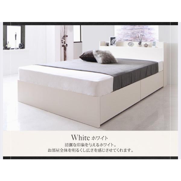 ベッド セミダブル スタンダードボンネルコイル 床板仕様 組立設置付 国産 収納 alla-moda 17