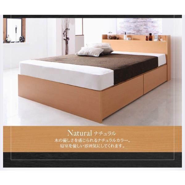 ベッド セミダブル スタンダードボンネルコイル 床板仕様 組立設置付 国産 収納 alla-moda 18