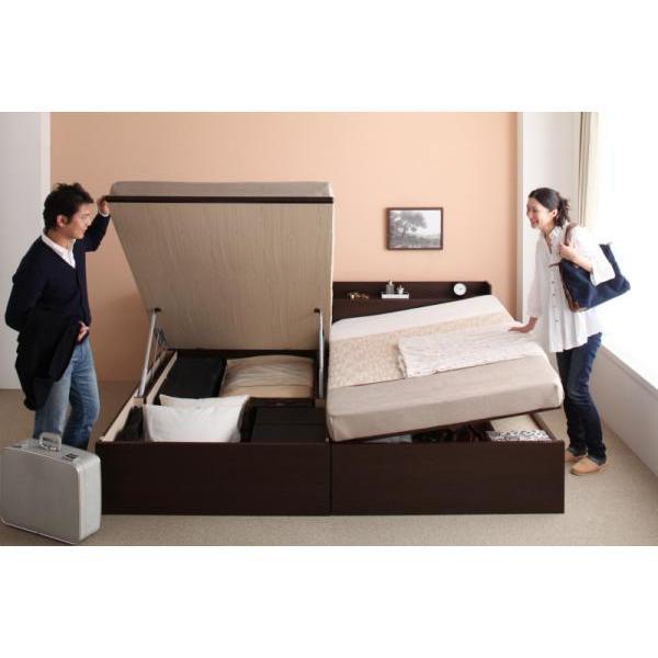 シングルベッド 跳ね上げ ベッド 収納 薄型スタンダードポケットコイル 横開き 深さレギュラー 組立設置付|alla-moda|19