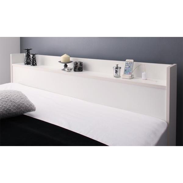 ベッドフレームのみ クイーン収納ベッド alla-moda 18