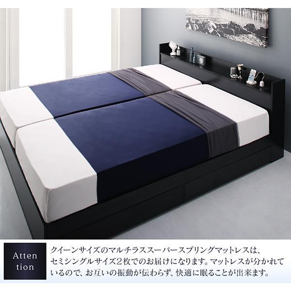 ベッド ダブル ベッド 収納 スタンダードボンネルコイル|alla-moda|17