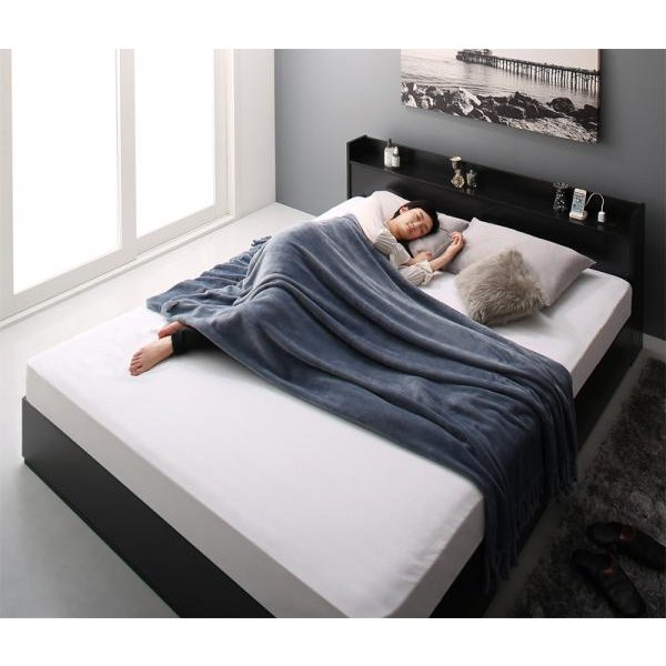 ベッド ダブル ベッド 収納 スタンダードボンネルコイル|alla-moda|20