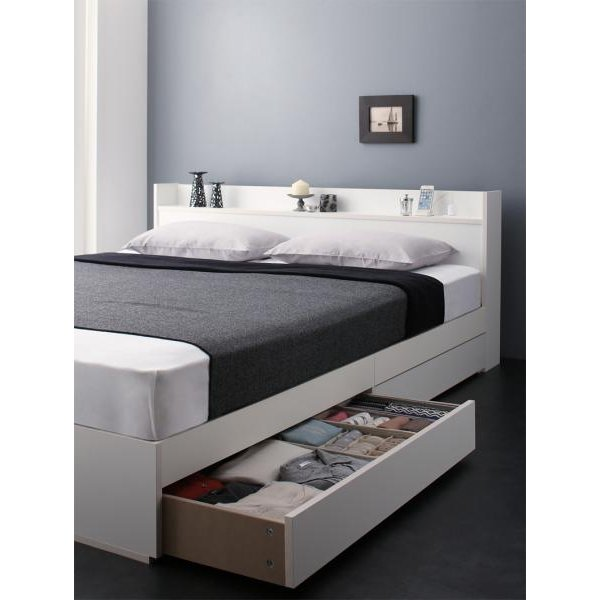 ベッド 収納 セミダブル プレミアムボンネルコイル|alla-moda|21