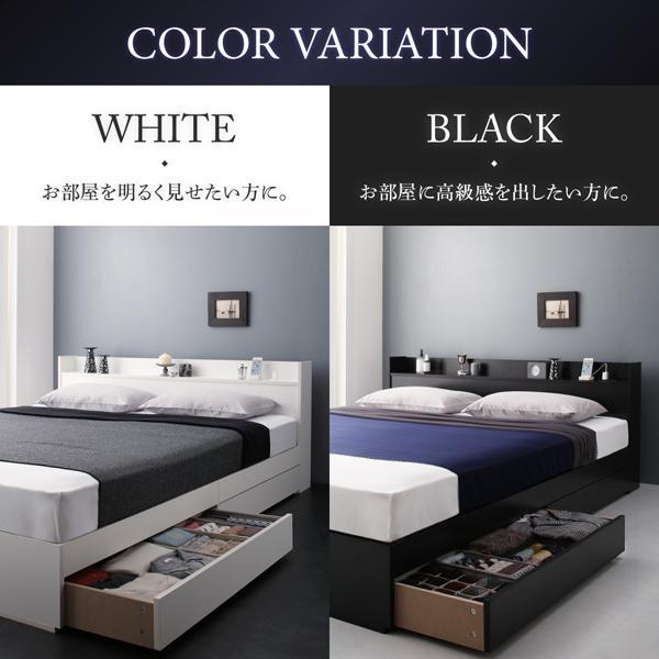 ベッド シングル ベッド 収納 国産カバーポケットコイル|alla-moda|09