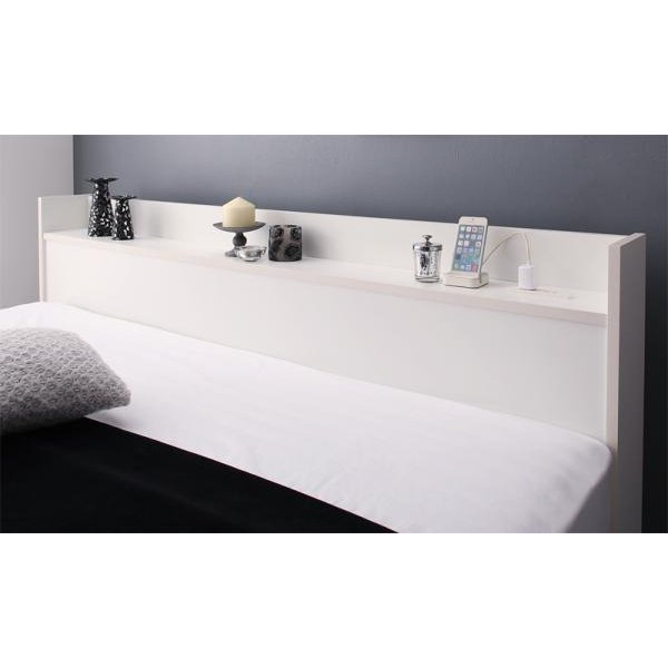 ベッド 収納 セミダブル フランスベッド マルチラススーパースプリングマットレス付き|alla-moda|18