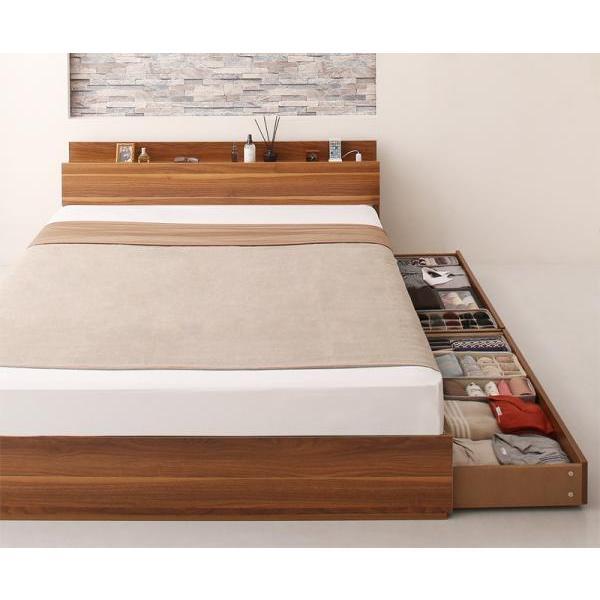 ベッドフレームのみ ベッド セミダブル 収納|alla-moda|18