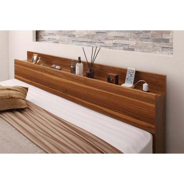 ベッドフレームのみ ベッド セミダブル 収納|alla-moda|19