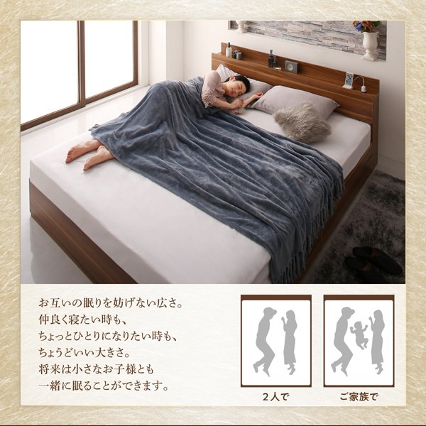 ベッド シングル ベッド 収納 スタンダードボンネルコイル alla-moda 05