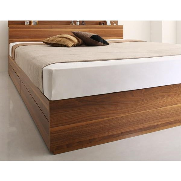 ベッド シングル ベッド 収納 フランスベッド マルチラススーパースプリングマットレス付き|alla-moda|20