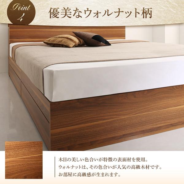 ベッド 収納 セミダブル フランスベッド マルチラススーパースプリングマットレス付き|alla-moda|09