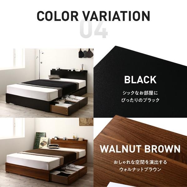 ベッド セミダブル 収納 フランスベッド マルチラススーパースプリングマットレス付き 引き出しなし 小上がり|alla-moda|11