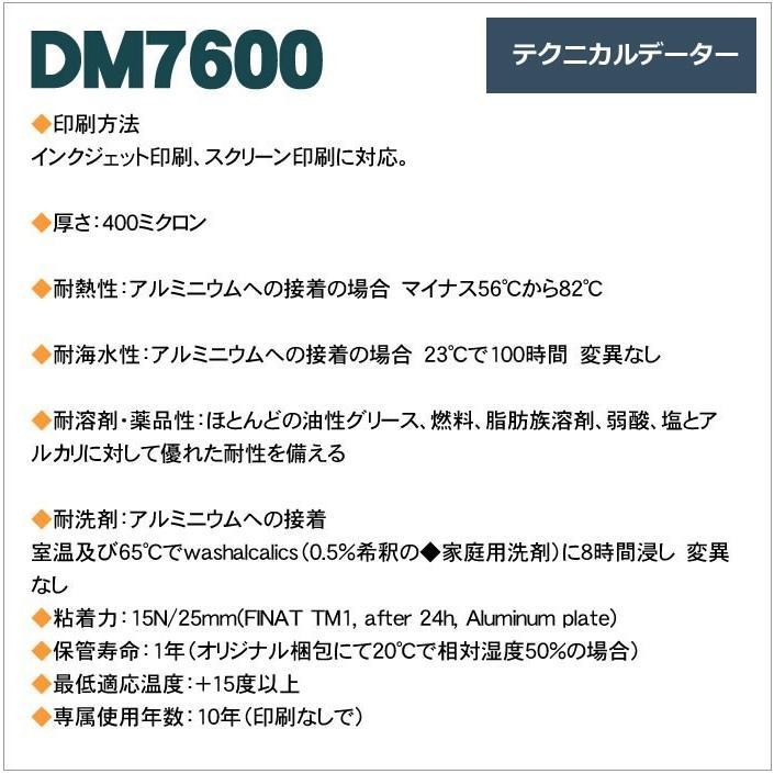 反射シート 反射材 道路 屋外用 マイクロプリズム 高輝度 NETIS 蛍光色 dm7600fA4サイズ|alla-moda|06
