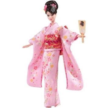 Mattel マテル Barbie バービー ゴールドラベル Japanese Happy New Year