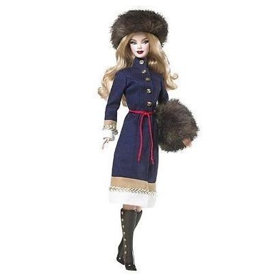 Mattel マテル Barbie バービー ピンクラベル Russia ロシア