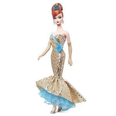 Mattel マテル Barbie バービー ゴールドラベル 2013 Happy New Year