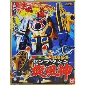 バンダイ  DX 超合金 GD-42 忍風合体 忍風戦隊ハリケンジャー 旋風神 センプウジン