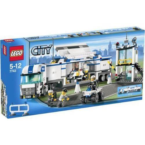 レゴ シティ 警察トラック 7743