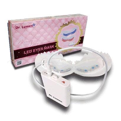 アイマスク 目元ケア 美容液用品と併用 美容成分の吸収・浸透を補助  シワ取り 目のくま解消 BLUE LEDアイマスク LED-EM-BR006|allbuy
